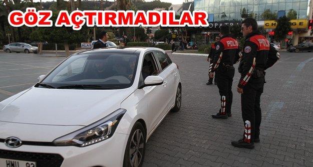 Alanya'da polis alarma geçti