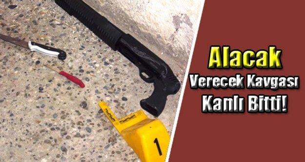 Antalya'da alacak verecek kavgası: 1 yaralı