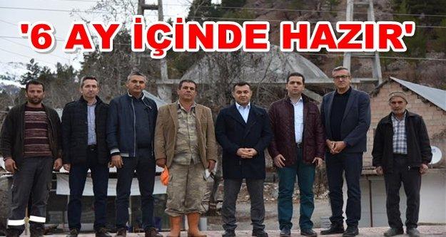 Başkan Yücel'den Çayarası'na dev proje