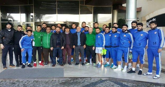 Çavuşoğlu'ndan Anamurspor'a ziyaret