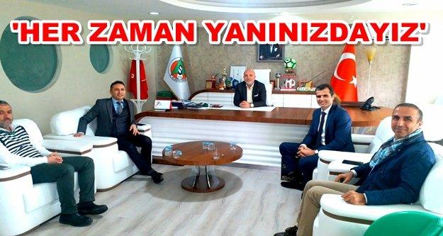 Çavuşoğlu'na Vakıfbank'tan ziyaret