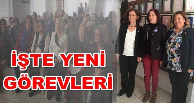 CHP'li kadınlar görev dağılımı yaptı