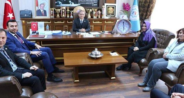 Milletvekili Çelik'ten ALKÜ'ye ziyaret