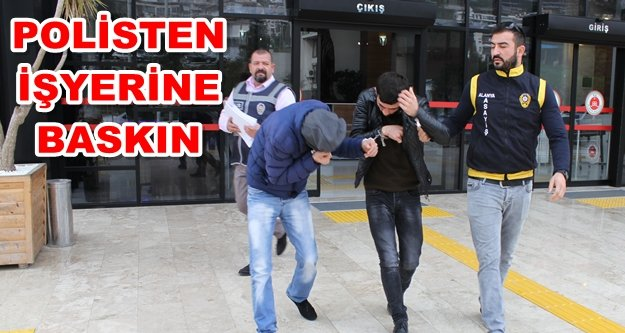 Suç makineleri Alanya'da yakalandı