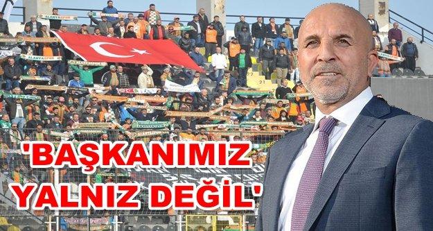 Taraftar Çavuşoğlu'na sahip çıktı