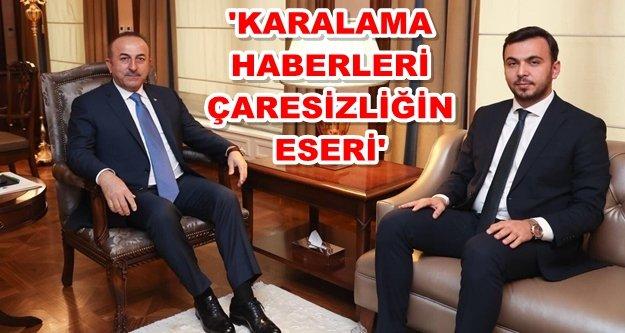 Alanya'dan Çavuşoğlu'na tam destek