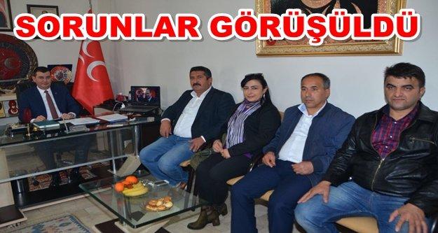 Türkdoğan muhtarları dinledi
