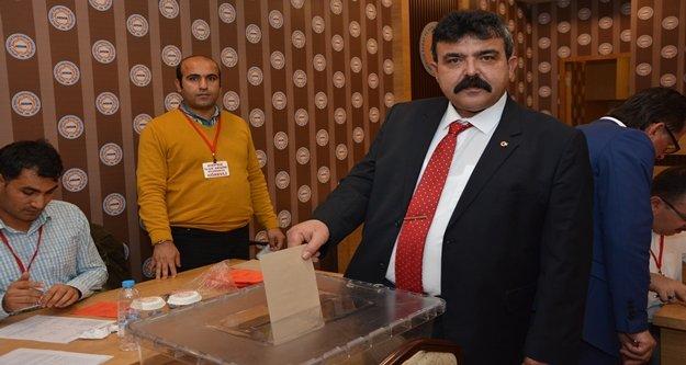 Yeni yılın ilk başkanı Bayram Dal oldu