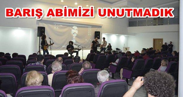 Alanya'da Barış Manço anıldı