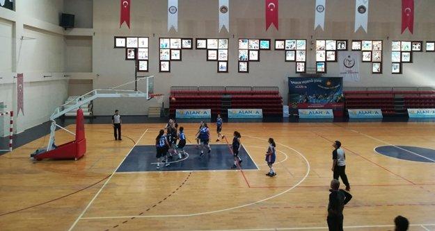 Alanya'da basketbol heyecanı