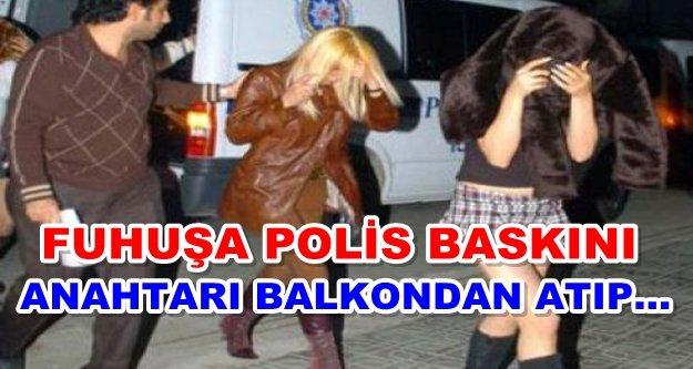 Alanya'da fuhuş baskını: 2 kadın gözaltına alındı