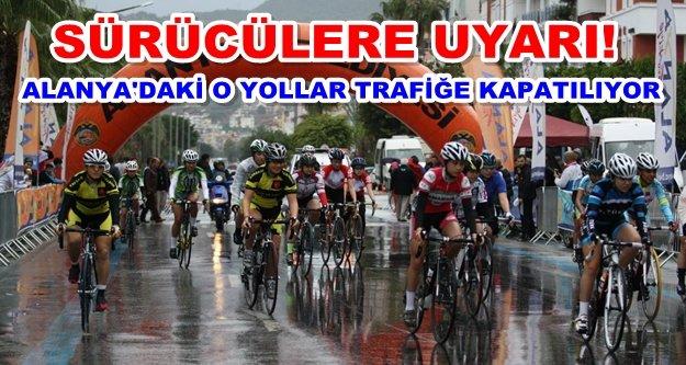 Alanya Kadın Bisiklet Yarışları başlıyor