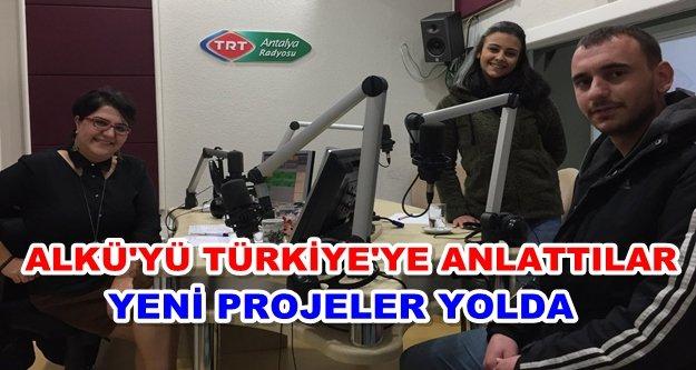 ALKÜ'lü öğrenciler TRT'nin konuğu oldu