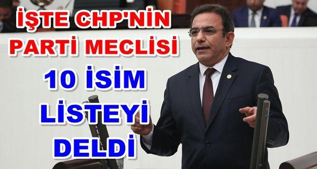 Antalyalı vekil CHP'de o listeye girdi