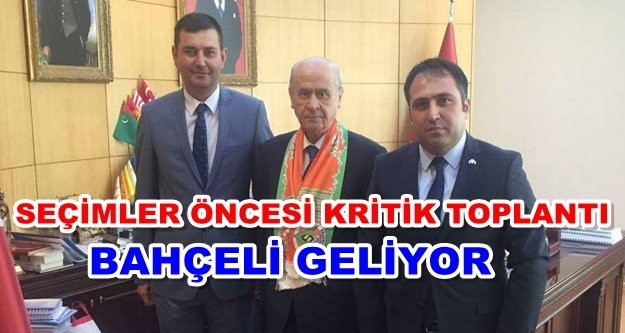 Bahçeli Türkdoğan'la görüşecek