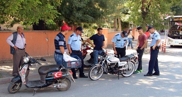Bin 356 motosiklet denetlendi