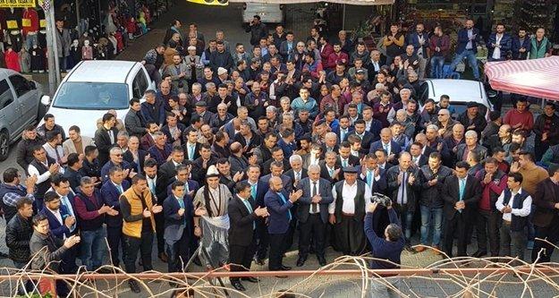 Hasan Yiğit'ten Cuma Pazarı çıkarması