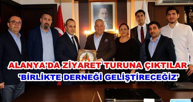 İstanbul'daki Alanyalılar memleketlerine geldiler