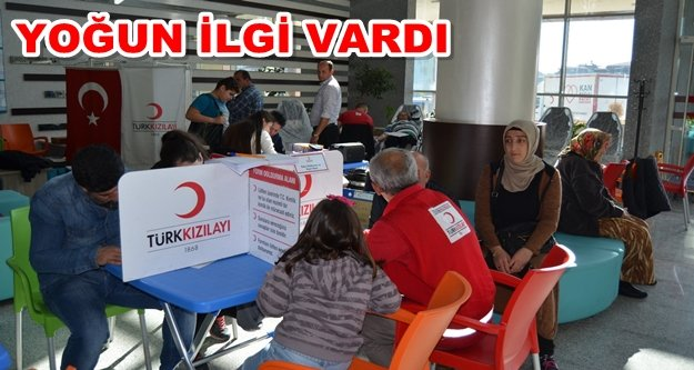 Kızılay'a Alanya'dan tam destek