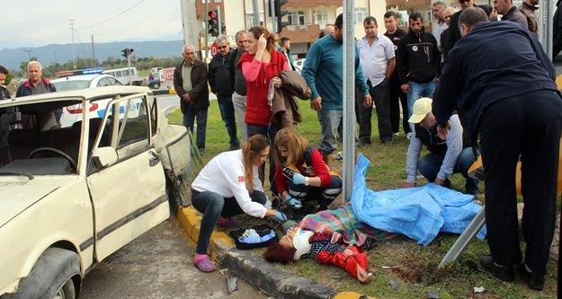 Trafik kazasında ağır yaralanan kadın 25 gün sonra öldü