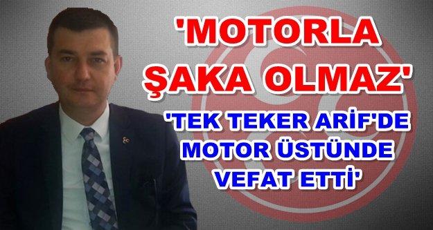 Türkdoğan Alanya'daki motosiklet terörü hakkında konuştu