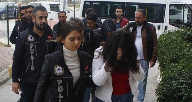 Uyuşturucu operasyonu: 1'i kadın 8 gözaltı