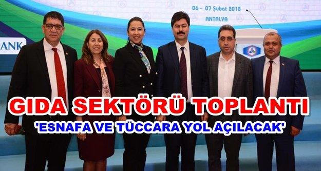 Yenialp Antalya'daki kritik toplantıya katıldı