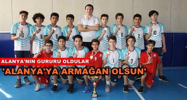 Alanya Bahçeşehir, Antalya şampiyonu oldu