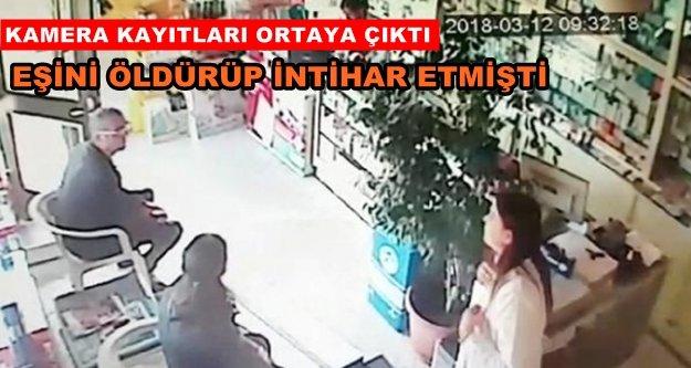 Alanya'daki cinayet anı saniye saniye kameralarda