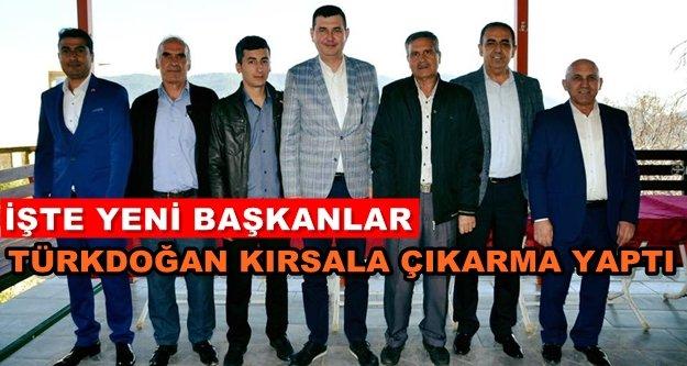 Alanya MHP'de yeni mahalle başkanları atandı