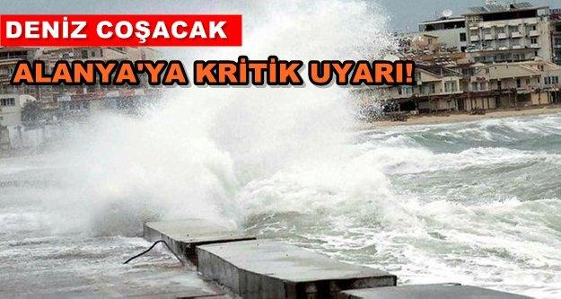 Alanya'ya kritik fırtına uyarısı!