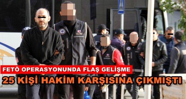 Alanya'da FETÖ'den 4 tutuklama