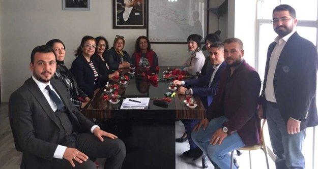 ALSEV'den AK kadınlara anlamlı ziyaret