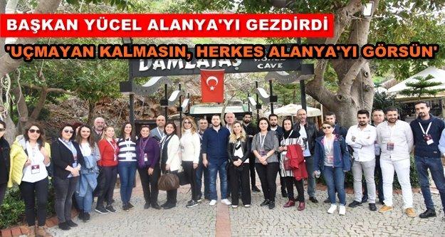 Anadolu Jet'ten Alanya turizmine destek