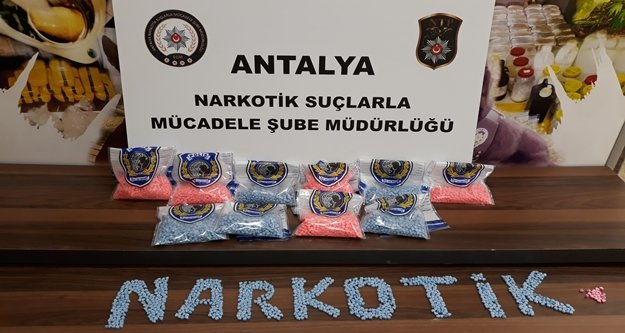 Antalya merkezli uyuşturucu operasyonu: 12 gözaltı