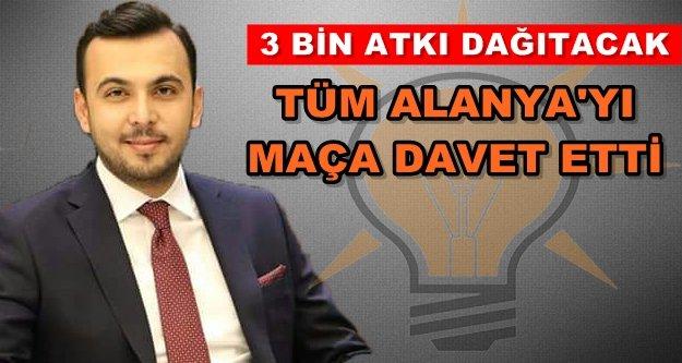 Başkan Toklu'dan Alanyaspor'a destek çağrısı