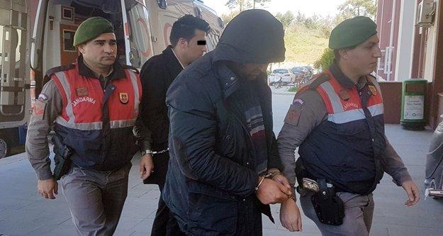 Çamlık gaspçıları yakalandı