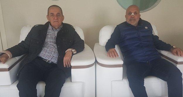 Eski başkandan Çavuşoğlu'na ziyaret