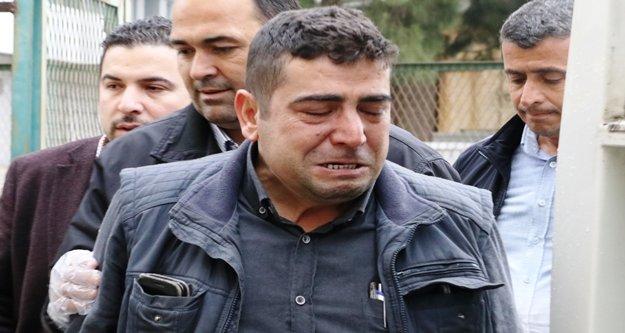 Melek'in babası gözyaşlarına boğuldu