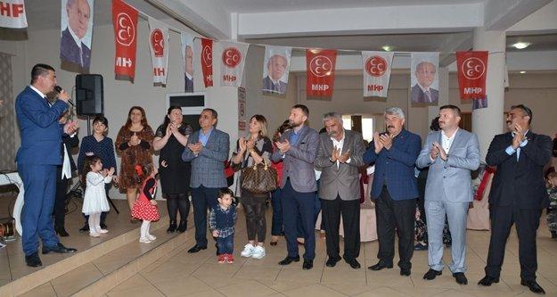 MHP'den Avsallar'da 8 Mart etkinliği