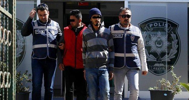 Suriyeli motosiklet hırsızları adliyeye sevk edildi