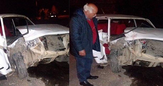 Trafik kazası: 2 yaralı var