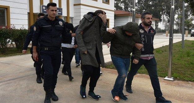 Uyuşturucu operasyonunda 12 tutuklama