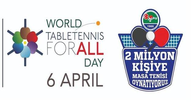 Alanya'da masa tenisi etkinliği
