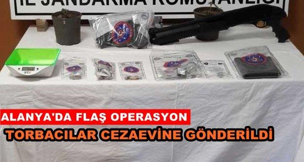 Alanya'da uyuşturucu operasyonuna 11 tutuklama