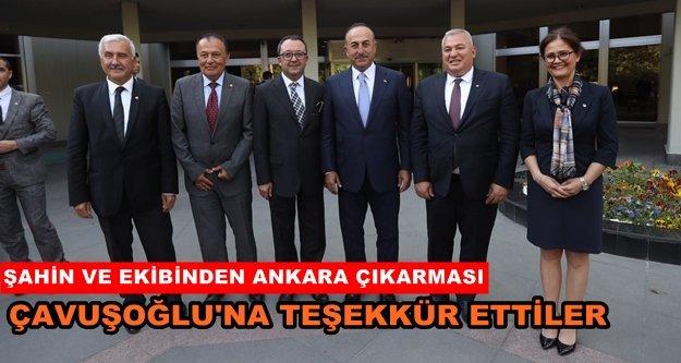 ALTSO'dan ilk ziyaret Bakan Çavuşoğlu'na