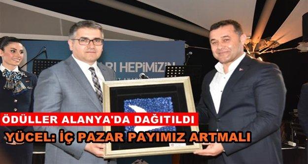 AnadoluJet Acente Ödülleri dağıtıldı