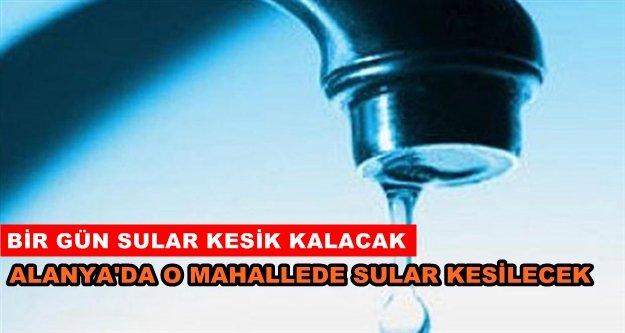 ASAT'tan su kesintisi uyarısı