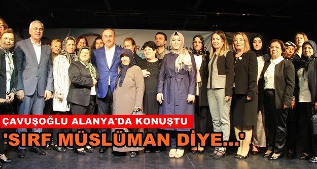 """Bakan Çavuşoğlu: """"Doğru ile yanlışı çok iyi ayırt edelim"""""""