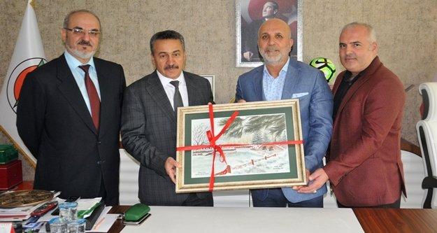 Belediye Başkanından Çavuşoğlu'na ziyaret